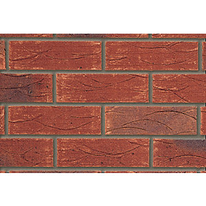Forterra Facing Brick Old English Brindled Red - Pack of 495