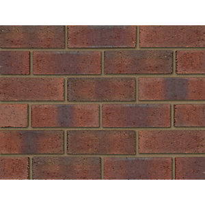 Ibstock Facing Brick Aldridge New Burntwood Red Rustic 73mm - Pack of 292