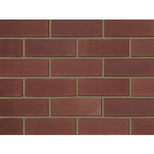 Ibstock Facing Brick Aldridge Smooth Red 73mm - Pack of 336