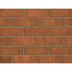 Ibstock Facing Brick Anglian Red Rustic - Pack of 316