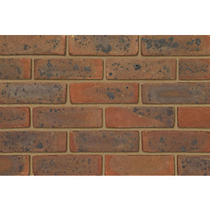 Ibstock Facing Brick West Hoathly Medium Multi Stock - Pack of 500