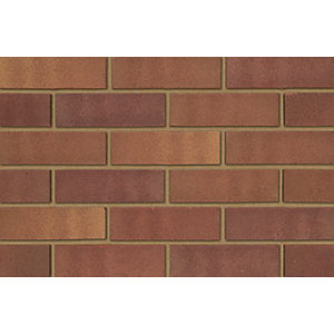 Ibstock Tradesman Heather Mixture Facing Brick Brown 215mm x 102.5mm x 65mm (Pack of 400)