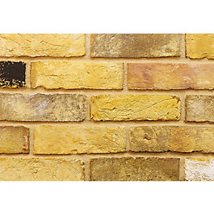 Imperial Facing Brick Reclamation Yellow Stock Handmade 68mm - Pack of 560