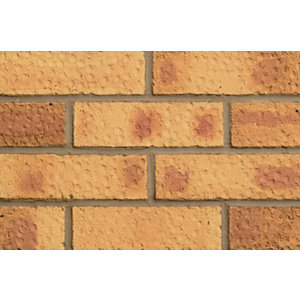 London Brick Company Facing Brick Saxon Gold - Pack of 390