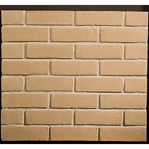 Traditional Brick & Stone Facing Brick Cromwell Buff Stock - Pack of 552