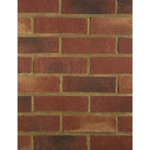 Wienerberger Facing Brick Blended Red Multi Gilt Stock - Pack of 500