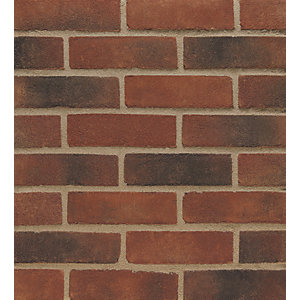 Wienerberger Facing Brick New Red Multi Gilt Stock - Pack of 500