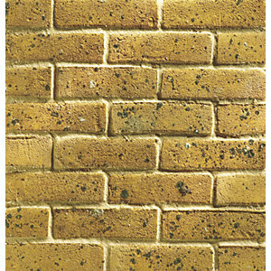 Wienerberger Facing Brick Thames Yellow Stock - Pack of 500