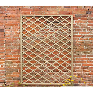 Forest Garden Rosemore Lattice Fence Panel 1800mm x 1800mm