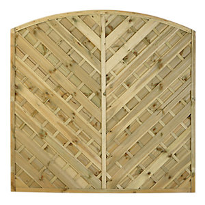 Bradville Fence Panel Pressure Treated 1800mm x 1800mm