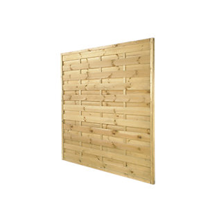 Europa Square Top Fence Panel  Pressure Treated 1800mm x 1800mm