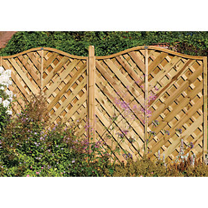 Europa Strasburg Fence Panel 1200mm x 1800mm