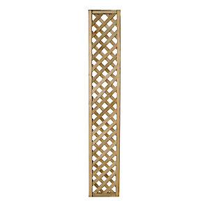 Forest Garden Rosemore Lattice Fence Panel 1800mm x 300mm