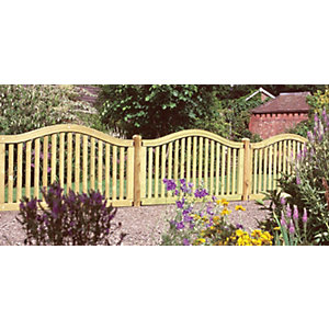 Hampton Fence Panel (1m high)