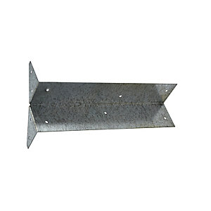 4TRADE Arris Rail Fixing Bracket Galvanised - Box of 50