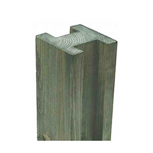 Fence Post Reeded Pressure Treated 100 x 100 x 2400m