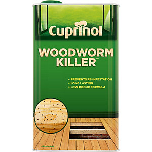 Cuprinol Woodworm Killer Low Odour (Wb) 5L