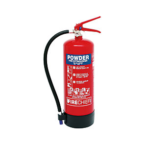 Firechief Xtr 6kg Powder Extinguisher (FXP6)