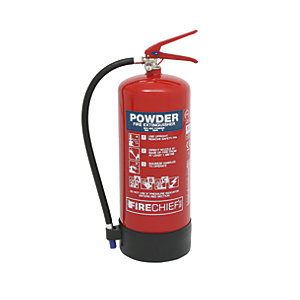 Firechief Xtr 9kg Powder Extinguisher (FXP9)