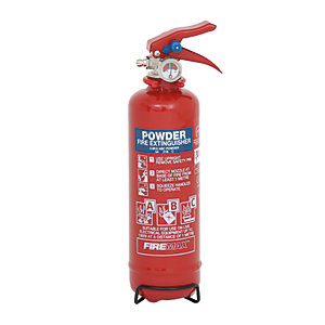 Firemax 600g Abc Powder Extinguisher C/W Wire Bracket (FMP600)