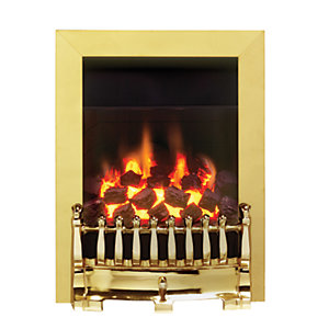 Valor Blenheim Full Depth Inset Living Flame Natural Gas Fire 0594151
