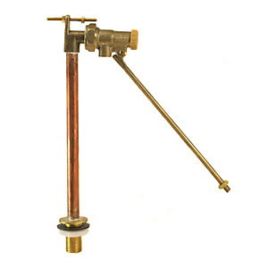 Beta BBL1 Float Operated Valve Part 1 High Pressure Straight Bottom Entry 1/2in