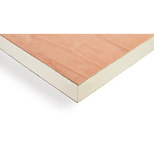 Recticel Plylok Insulation Board 2400 x 1200 x 126mm