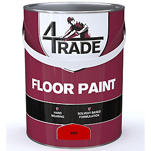 4Trade Floor Paint Tile Red 5L