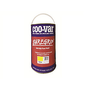 Coo-var Suregrip Anti-slip Floor Paint Yellow 5L