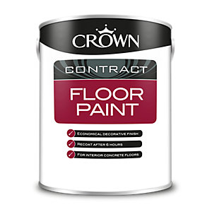 Crown Floor Paint Red 5L