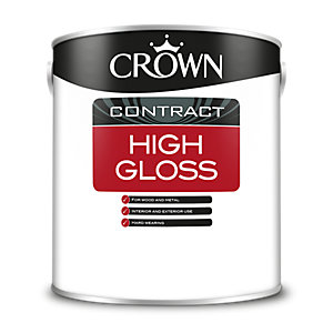 Crown High Gloss Black 2.5L