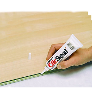 Clicseal Inclickin Joint Clear Sealant Flooring Adhesive 125ml