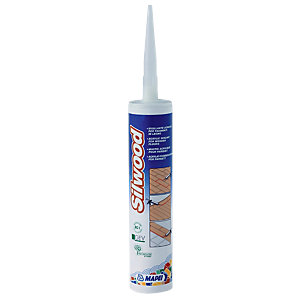 Mapei Silwood Acrylic Sealant For Wooden Floors Flooring Adhesive 310ml