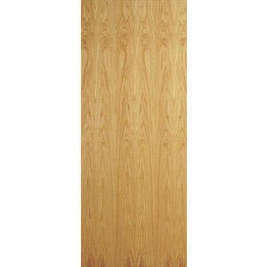 Flush Oak Veneer Hollow Core Internal Door Height 1981mm