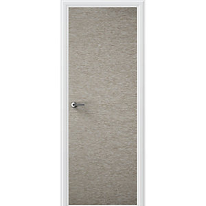 Flush Portfolio Light Grey Horizontal Internal Door Height 1981mm