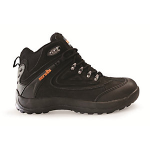 Scruffs Nova Hiker Safety Boot Black Size 10