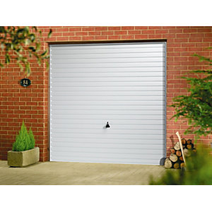 Garador Horizon Type C Steel Up & Over Garage Door White 1981mm x 2134mm