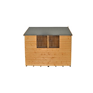 Forest Garden Apex Shiplap Dipped Shed 8 X 6