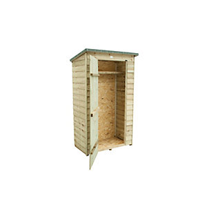 Pent Tool Store - Pressure Treated 1890mm x 1120mm x 6700mm
