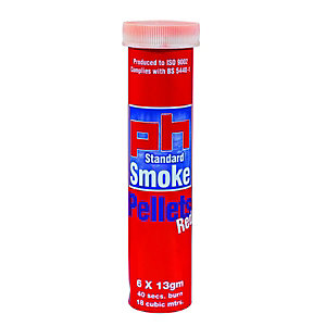 Ph Smoke Pellets 13g Tube of 6 Red