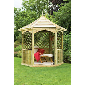 Pressure Treated Timber Burford Gazebo