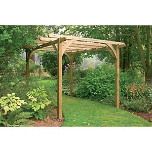 Pressure Treated Timber Ultima Pergola Kit 2700mm X