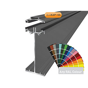 Alukap-SS High Span Bar 6.0m PC-(Any RAL Colour)