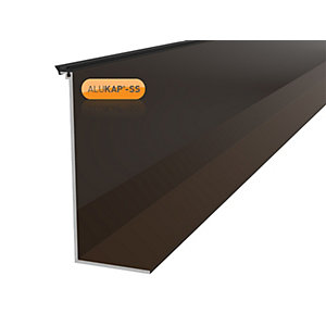 Alukap-SS High Span Cap 3.0m Brown