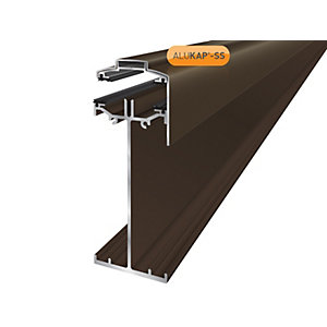 Alukap-SS High Span Gable Bar 3.0m Brown