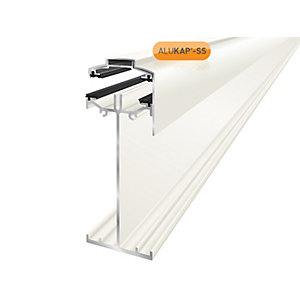 Alukap-SS High Span Gable Bar 3.0m White