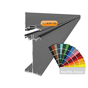 Alukap-SS High Span Wall Bar 4.8m PC-(Any RAL Colour)