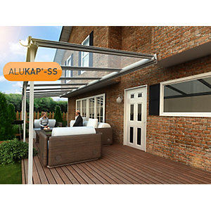 Alukap-SS High Span Wall Bar 6.0m PC-(Any RAL Colour)