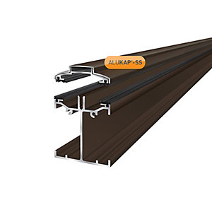 Alukap-SS Low Profile Bar 4.8m Brown