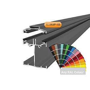Alukap-SS Low Profile Bar 4.8m PC-(Any RAL Colour)